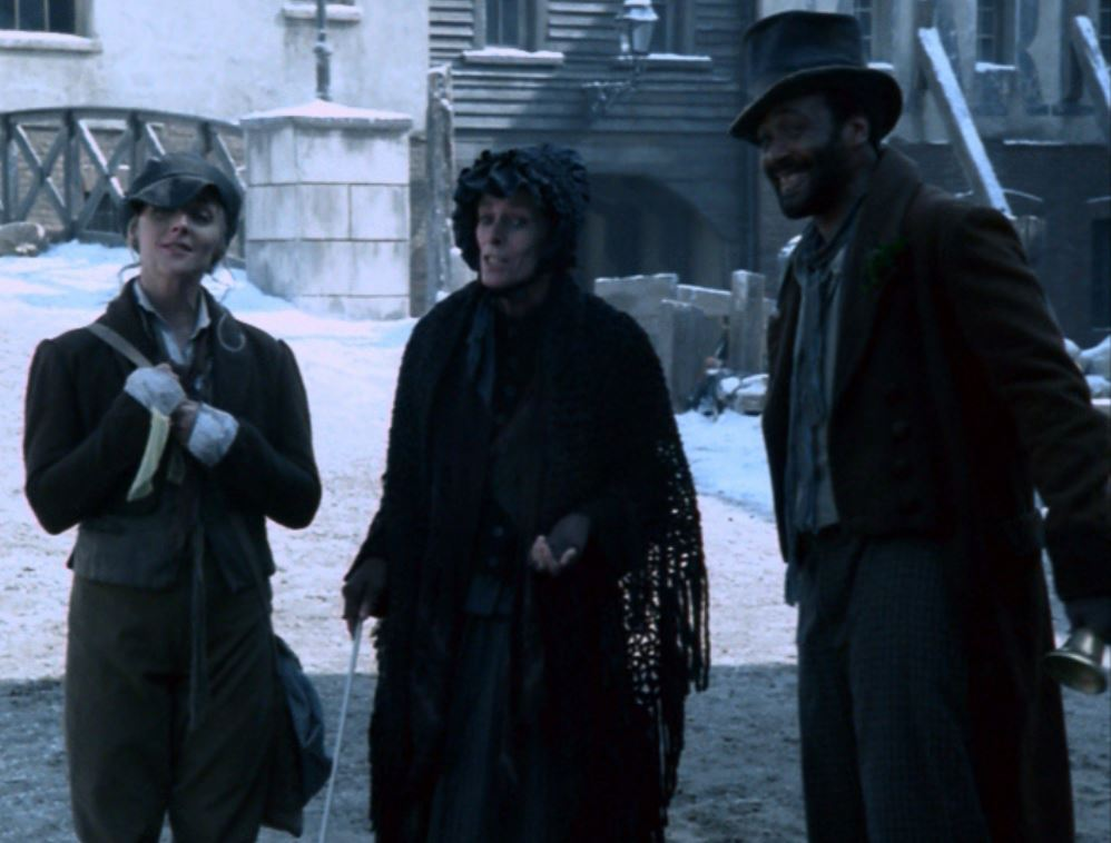 Geraldine Chaplin, Jane Krakowski, and Jesse L. Martin in A Christmas Carol (2004)