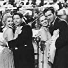 Alice Faye, Mary Beth Hughes, Jack Oakie, and John Payne in The Great American Broadcast (1941)
