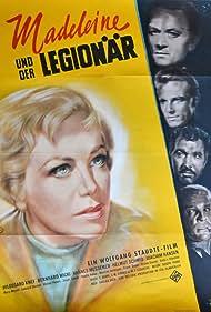 Joachim Hansen, Hildegard Knef, Hannes Messemer, Helmut Schmid, and Bernhard Wicki in Madeleine und der Legionär (1958)