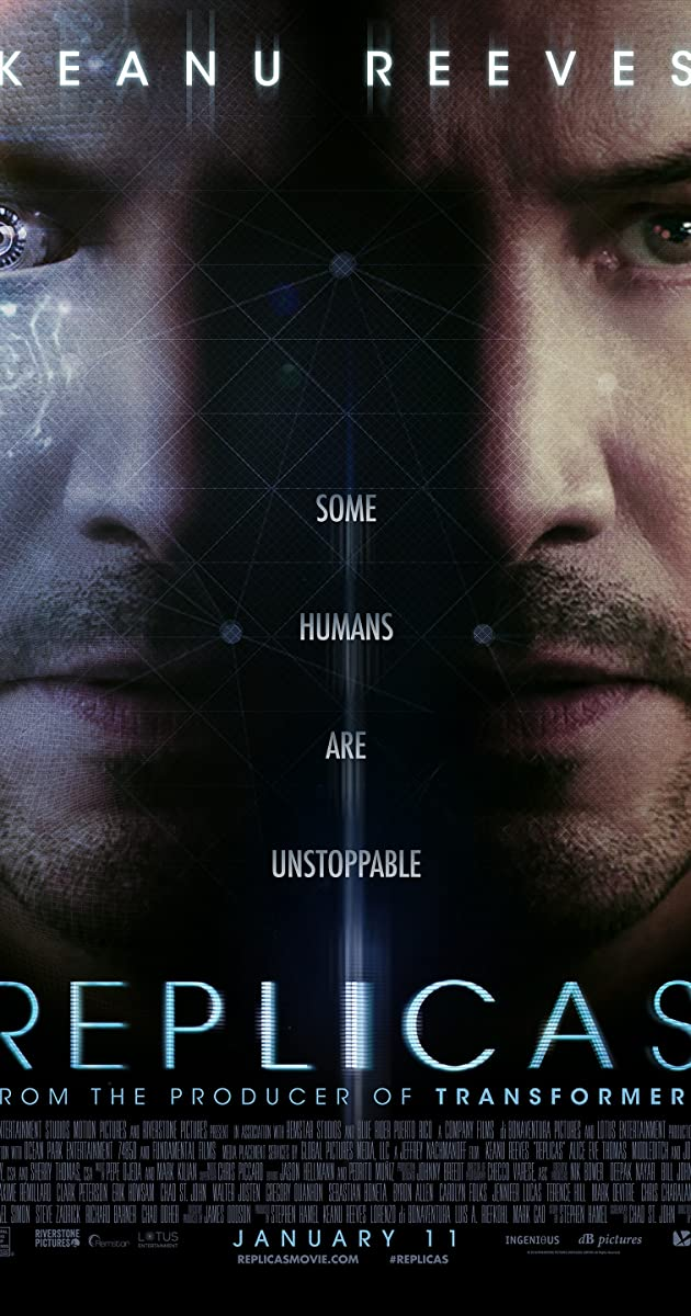 Watch Full HD Movie Replicas (2018)