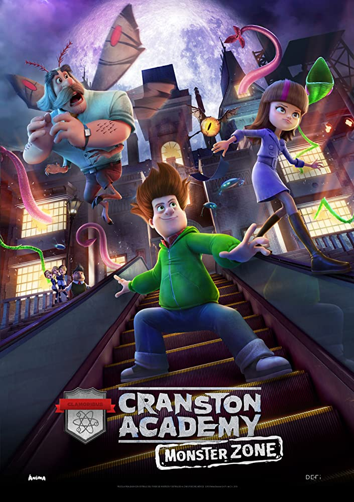 Cranston Academy: Monster Zone 2020 English 300MB HDRip Download