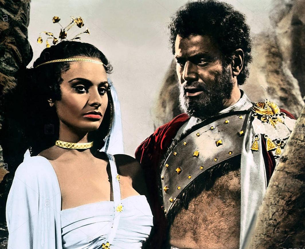 Sophia Loren and Afro Poli in Aida (1953)