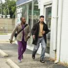 Frank Grillo and Anthony Mackie in Point Blank (2019)