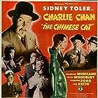 John Davidson, Benson Fong, Weldon Heyburn, Mantan Moreland, and Joan Woodbury in Charlie Chan in The Chinese Cat (1944)