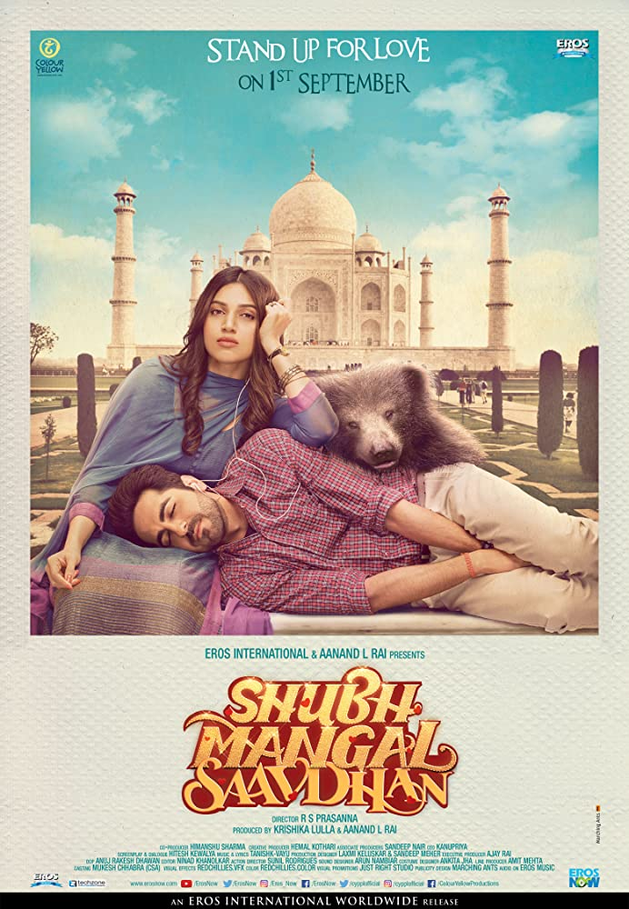 Shubh Mangal Saavdhan 2017 Hindi 720p HDRip 850mb