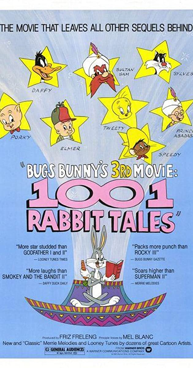 Subtitle of Bugs Bunny's 3rd Movie: 1001 Rabbit Tales