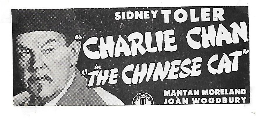 Sidney Toler in Charlie Chan in The Chinese Cat (1944)