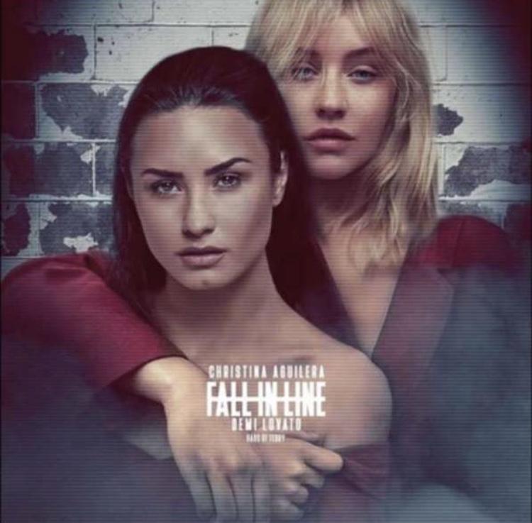 Christina Aguilera Feat. Demi Lovato  Fall in Line (2018) f960a9e02ec