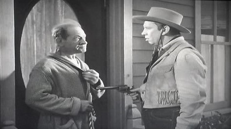 Harry Brown and Fuzzy Knight in Lawless Breed (1946)