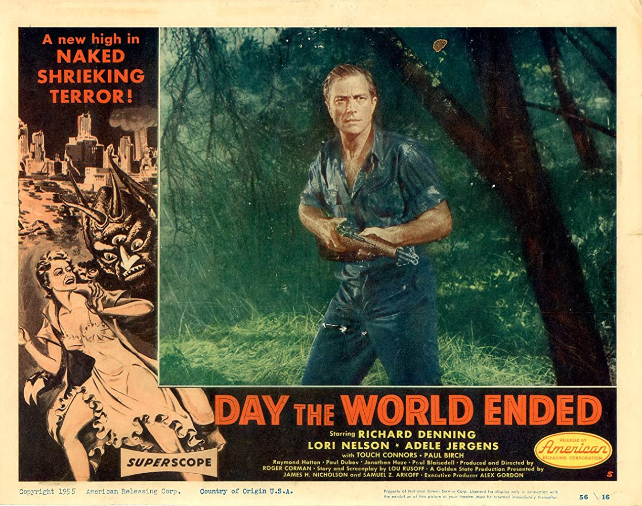 Richard Denning in Day the World Ended (1955)