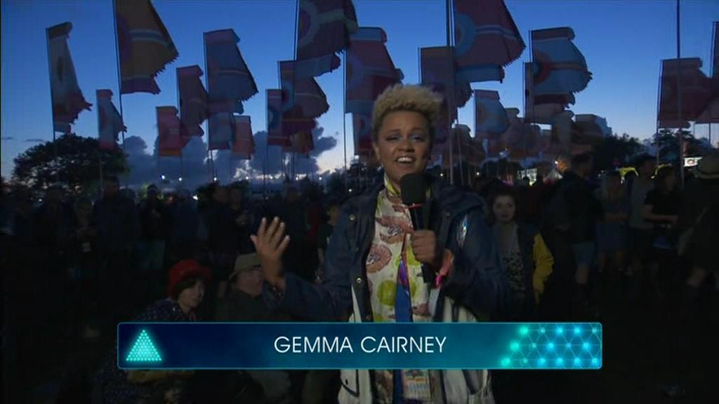 Gemma Cairney in Glastonbury 2016 (2016)