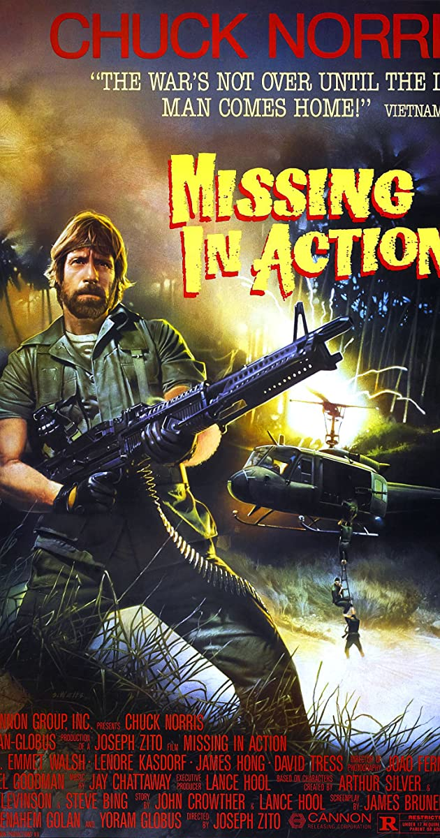 Missing In Action 1984 Chuck Norris As Col James