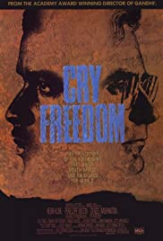 Cry Freedom (1987) Poster - Movie Forum, Cast, Reviews
