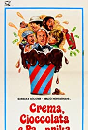 Crema, cioccolata e pa... prika Poster