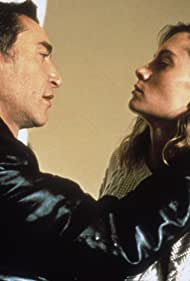Richard Berry and Erika Anderson in Shadows of the Past (1991)