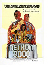 Detroit 9000 (1973) Poster - Movie Forum, Cast, Reviews