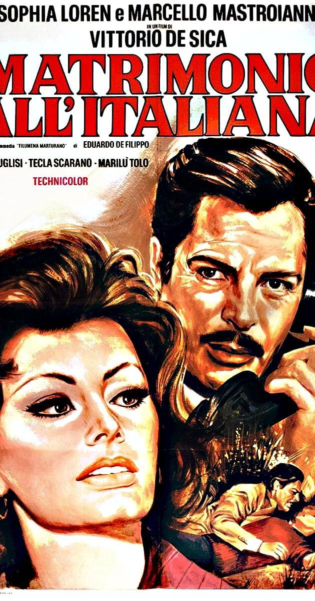 Subtitle of Marriage Italian Style