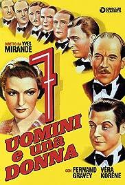 Sept hommes, une femme Poster