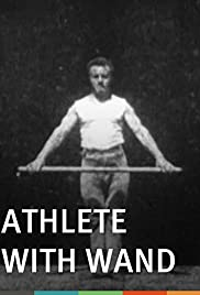 Athlete with Wand Poster