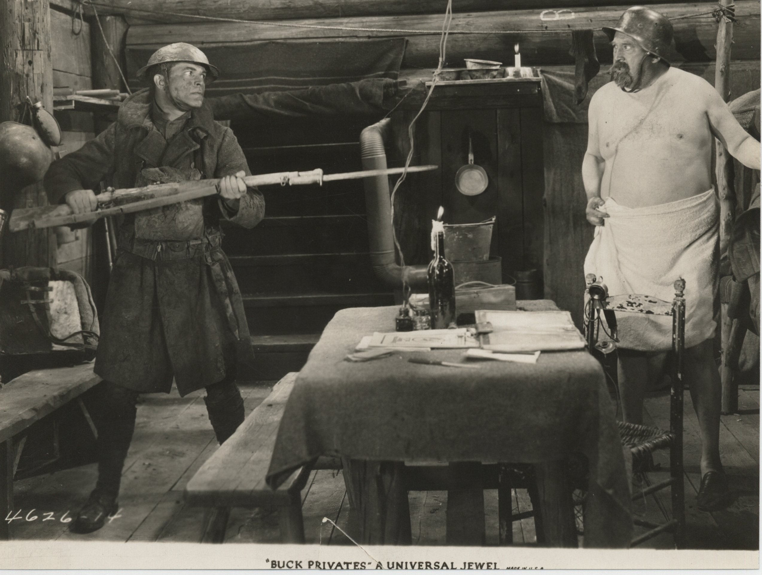 James A. Marcus and Malcolm McGregor in Buck Privates (1928)