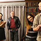 Michael Lee Denny, Sonia Pape, Nicole Cardamone Cannon, and Terry Self in What Lies Beyond (2016)