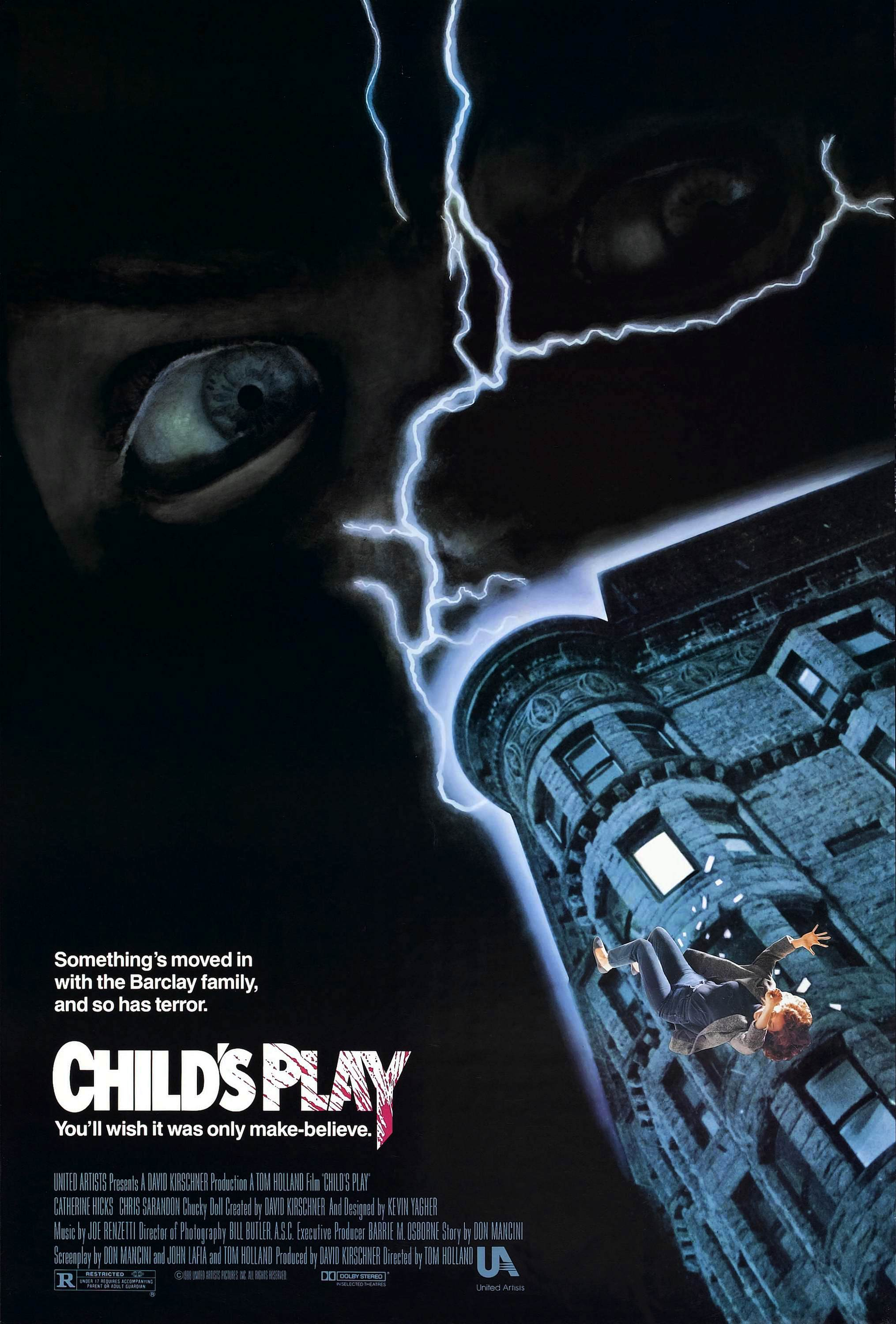 Image result for child's play 1988 poster