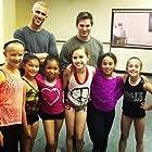 Kyla-Drew with Choreographer Paul Becker and 90210 Dance Castmates
