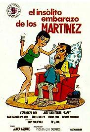 El insólito embarazo de los Martínez Poster
