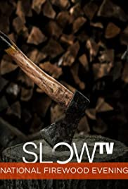 Slow TV: National Firewood Evening Poster