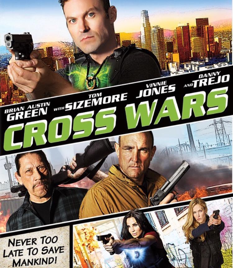 Tom Sizemore, Danny Trejo, Brian Austin Green, and Vinnie Jones in Cross Wars (2017)