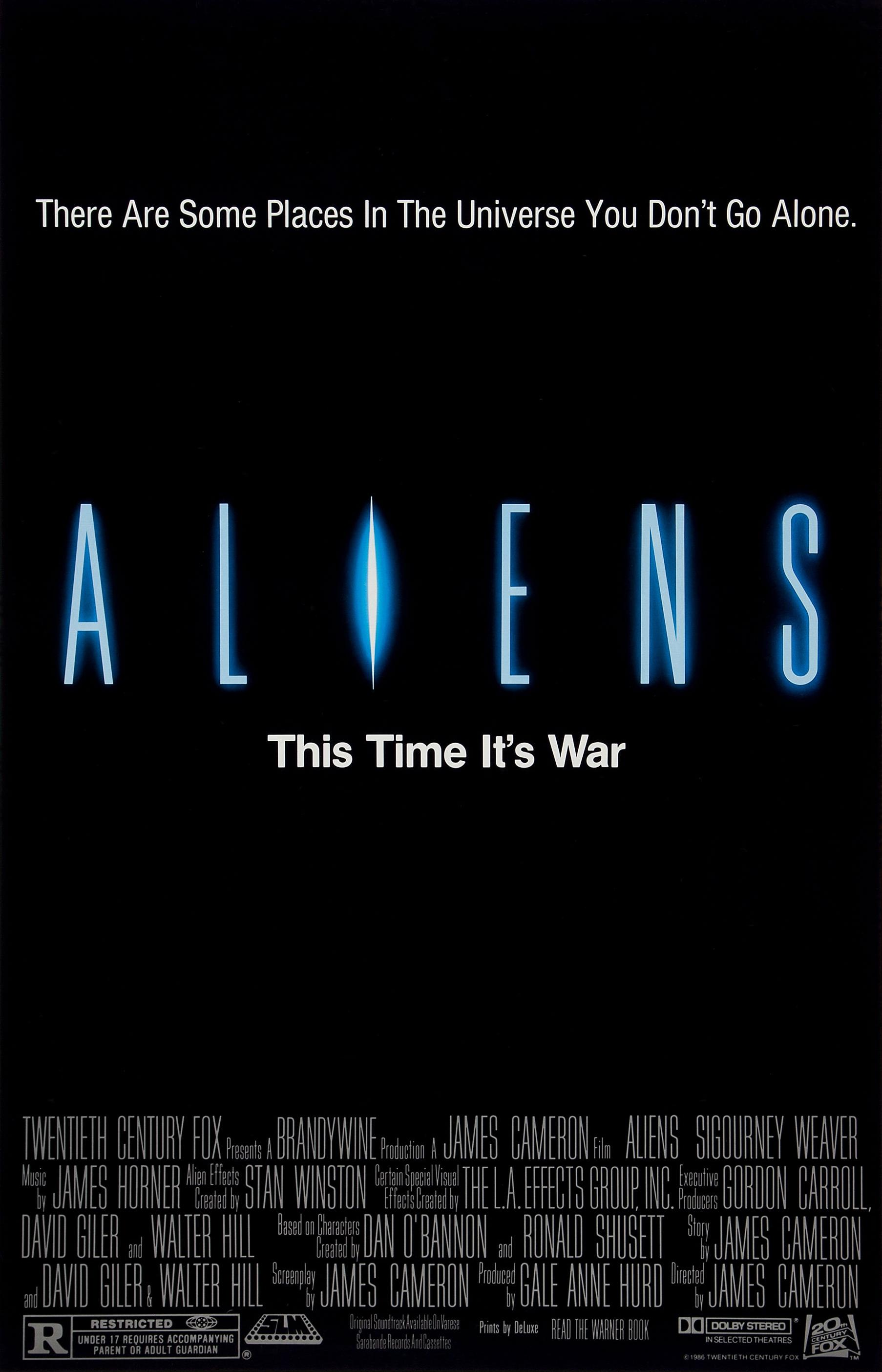 Aliens (1986) BluRay 480p, 720p & 1080p