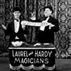 Oliver Hardy and Stan Laurel in The Hollywood Revue of 1929 (1929)