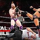 Shane McMahon, Mike 'The Miz' Mizanin, Claudio Castagnoli, and Stephen Farrelly in WWE Royal Rumble (2019)