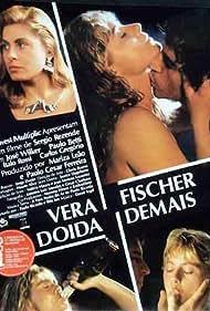 Paulo Betti and Vera Fischer in Doida Demais (1989)