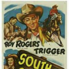 Roy Rogers, Dale Evans, and Trigger in South of Caliente (1951)