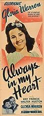 Always in My Heart (1942) Poster