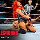 Rebecca Quin and C.J. Perry in WWE: Battleground (2017)
