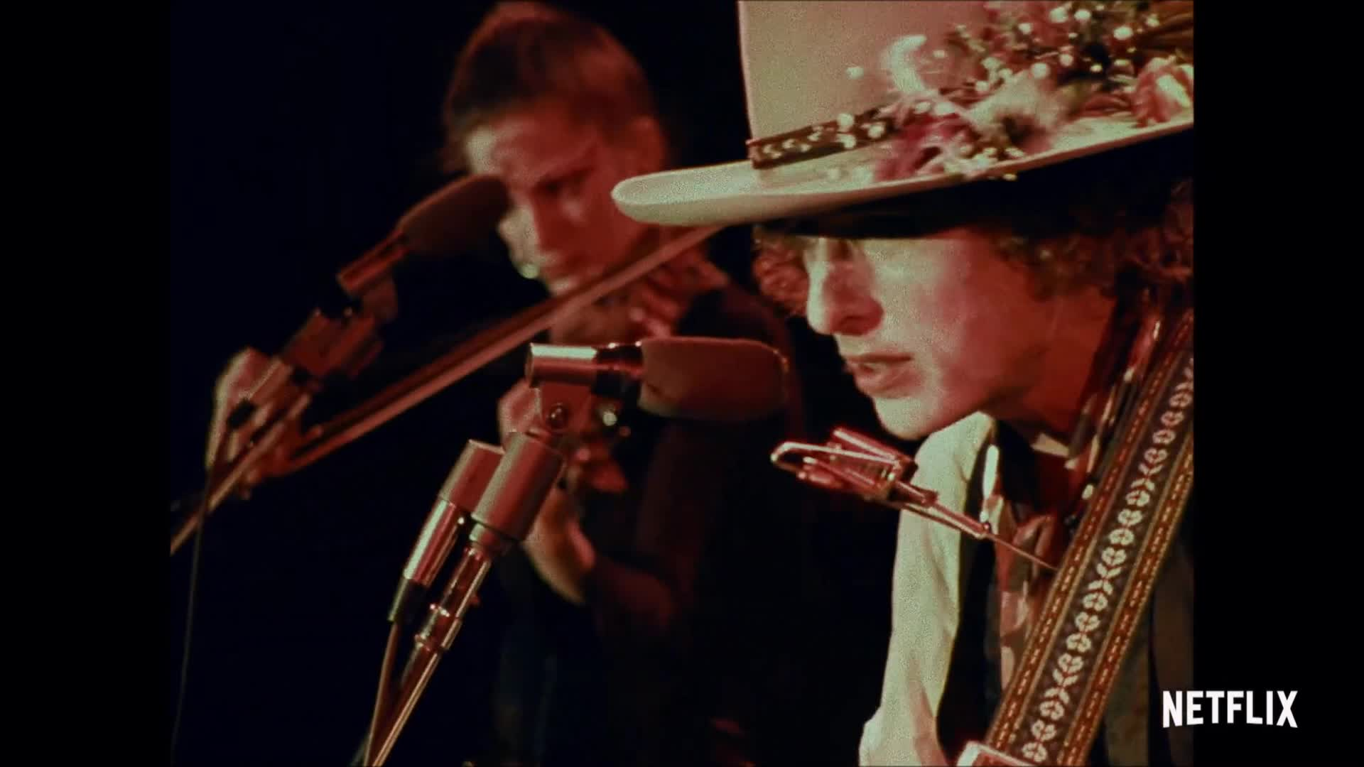 Rolling Thunder Revue A Bob Dylan Story by Martin Scorsese 24x36inch Silk Poster