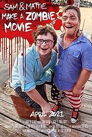 Sam Suchmann and Mattie Zufelt in Sam & Mattie Make a Zombie Movie (2021)