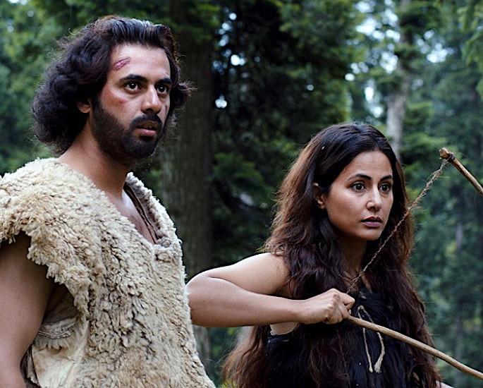 Shoib Nikash Shah and Hina Khan in Country of Blind (2019)