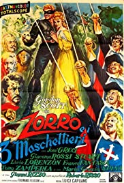 Zorro and the Three Musketeers Poster