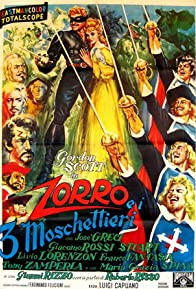 Primary photo for Zorro and the Three Musketeers
