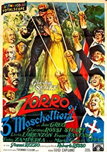 Zorro and the Three Musketeers in hindi movie download