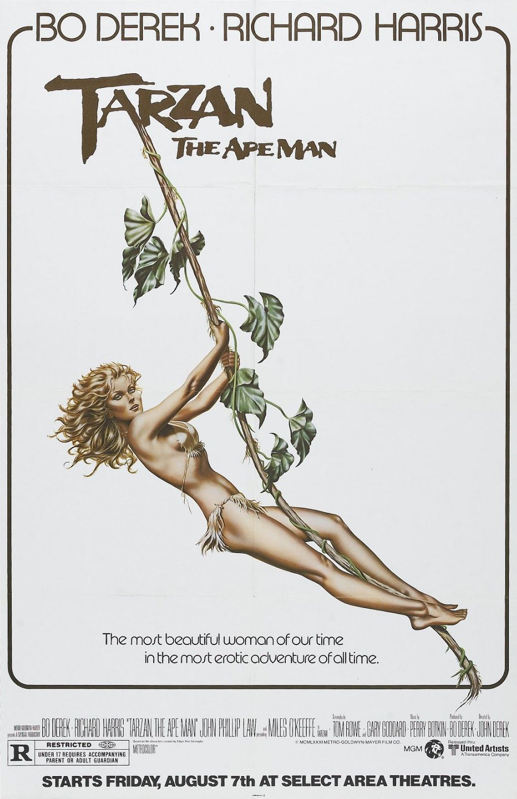 Tarzan the Ape Man (1981) - IMDb