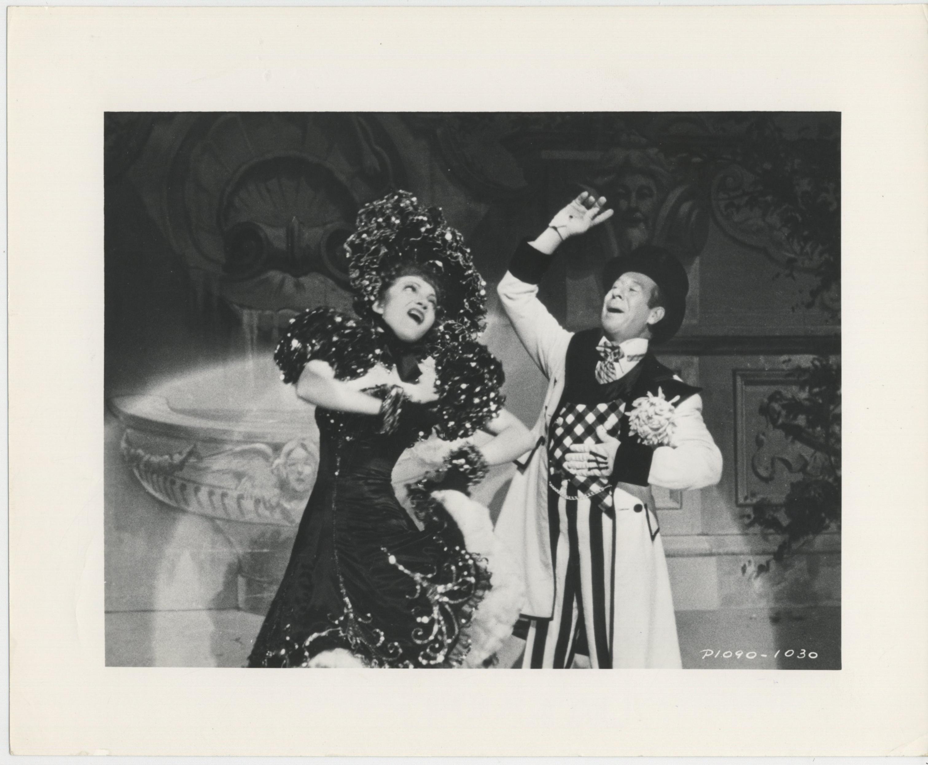 Claudette Colbert and Bert Lahr in Zaza (1938)