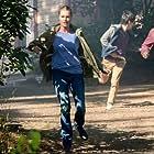 Rebecca Romijn, Christian Kane, and John Harlan Kim in The Librarians (2013)