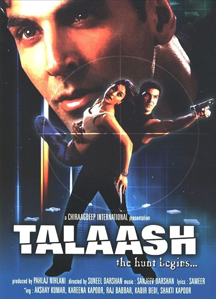 Talaash: The Hunt Begins 2003 Hindi Movie AMZN WebRip 400mb 480p 1.3GB 720p 4GB 8GB 1080p