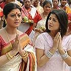 Laboni Sarkar and Srabanti Chatterjee in Josh (2010)