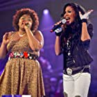 Denise Pearson and Ruth Brown in The Voice UK (2012)
