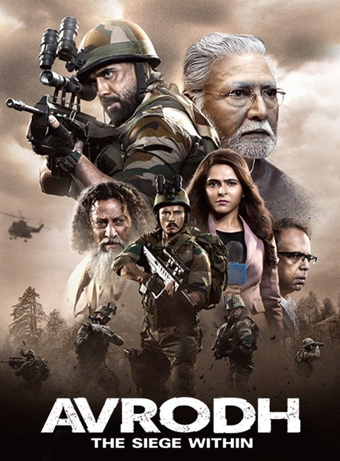 Avrodh The Siege Within (2020) S01 Hindi Complete SonyLiv Web Series 720p HDRip 1.3GB ESubs